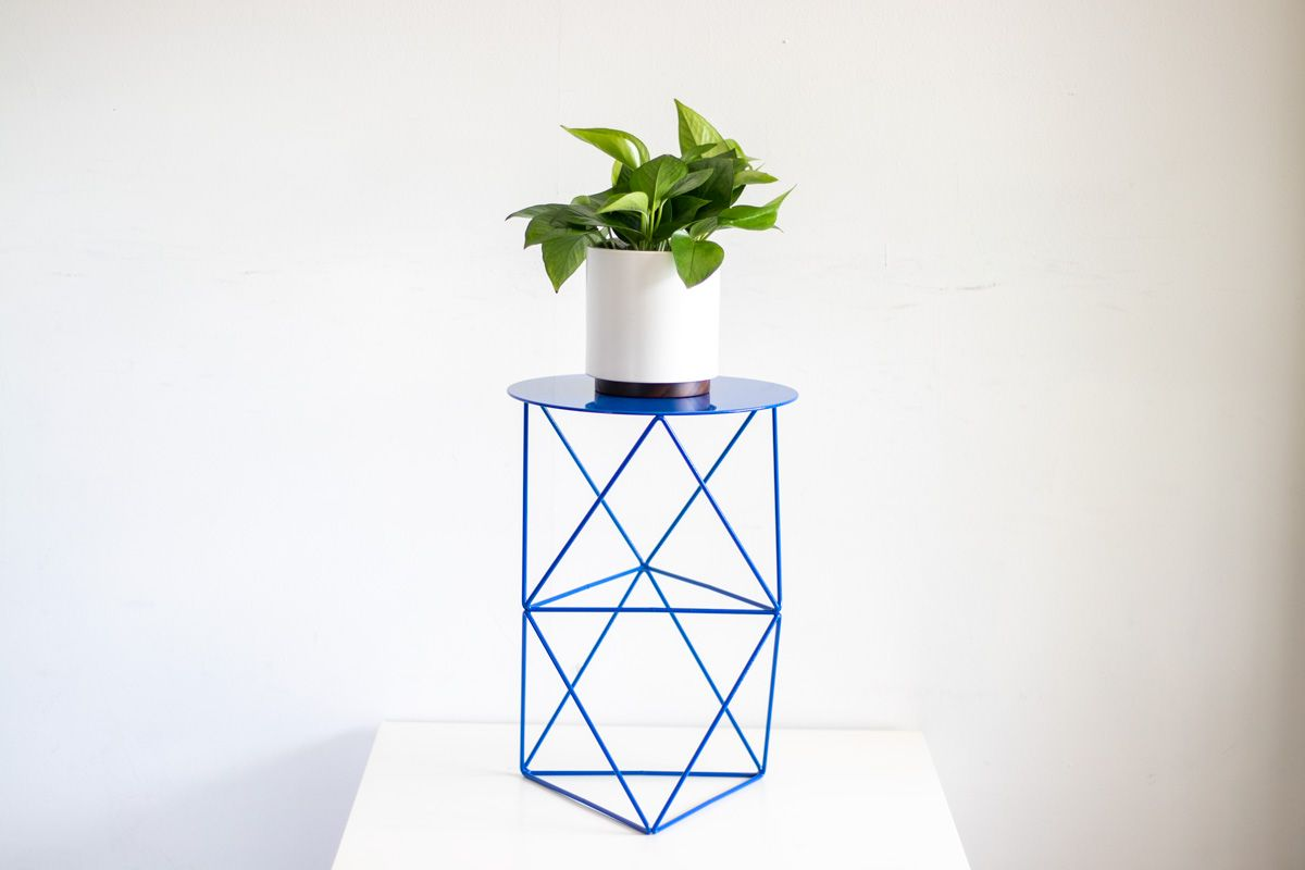Octahedron Plant Stand Tall - Octahedron Plant Stand Tall