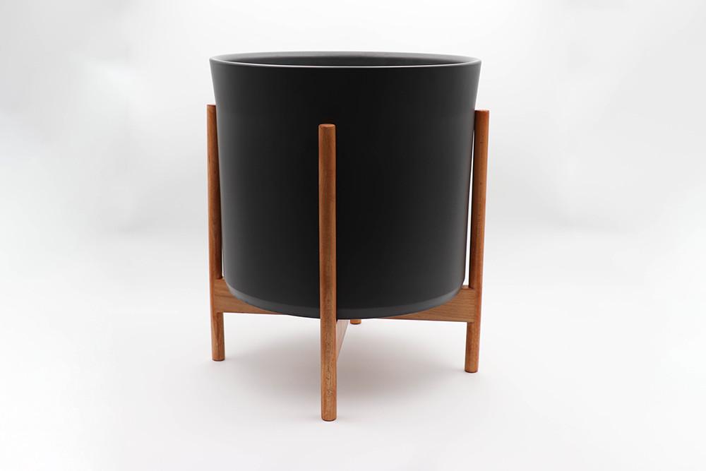 Le 36 - Velvet noir mid-century Jatoba B