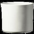 Le 15 - Pot céramique blanc mat