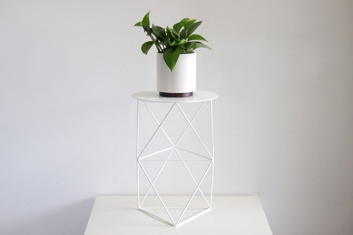 Stylish perches for your plants and art