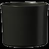Le 15 - Pot céramique noir mat