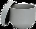 Gray Scandinavian Ceramic