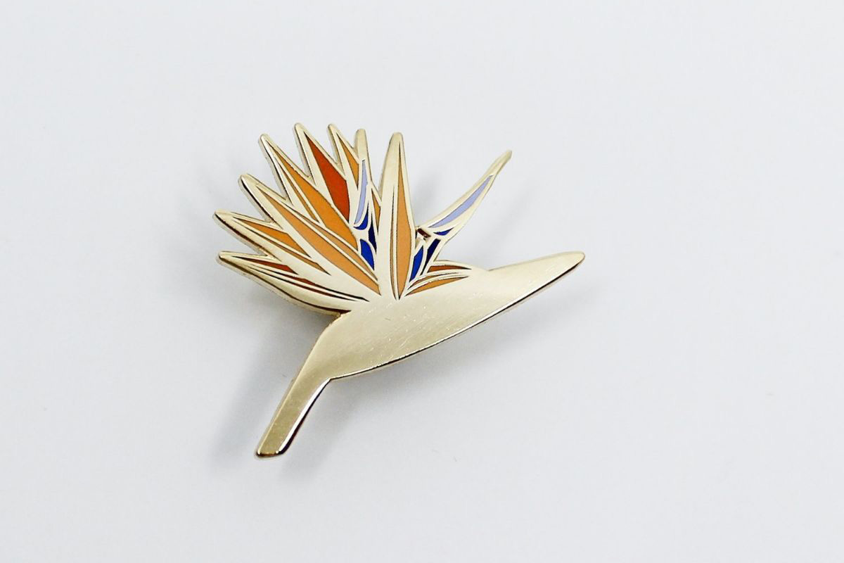 Bird of Paradise Pin - Bird of Paradise Pin
